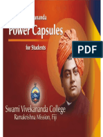 Vivekananda Power Capsules for Students, - Swami Tadananda