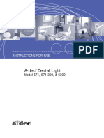 A-dec 571 and 6300 Dental Light.pdf