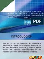 Aplicacion de La Metodologia DMAIC