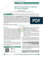 Bullous Pemphigoid Profile and Outcome in a Series of 100 Cases in Singapore