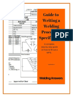 Guide to Writing a Welding Procedure Specification - December 2015