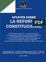 Apuntes Sobre La Reforma Constitucional