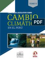 Compendio Legislativo Cambio Climatico Peru II