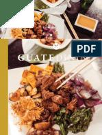 Colaboración en la revista Guatedining - Edición 43 - Junio 2018