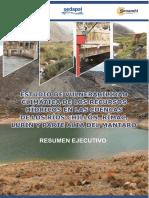 Estudio de Vulnerabilidad Climatica de Los Recursos Hidricos