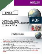 Bab 2 Pluraliti Dan Masyarakat Pluralistik Di Malaysia