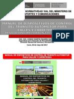 manual de dispositivos de control de transito
