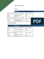Cronograma Capacitacion Brigadas Integrales 2018
