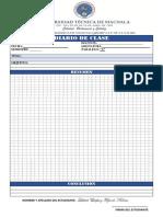 Formato Diario de Clase (Actual)