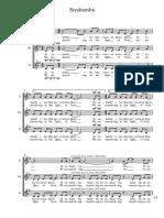 Siyahamba SMA & Percussion - Score - Full Score