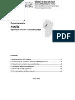 Informe Situacion Sociodemografica Punilla