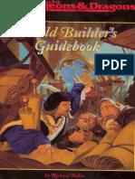 1st Ed World Builder's Guidebook(D&D)