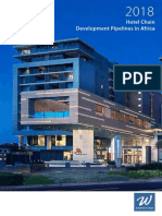 W Hospitality Group Hotel Chain Development Pipelines in Africa 2018 2