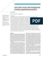 Advances in the Causes and Management of Community Acquired Pneumonia in Adults 2017