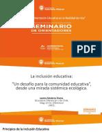 La Inclusión Educativa - Javiera Mederos