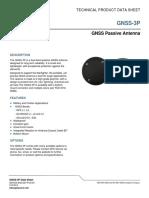 GNSS Passive Antenna Fan Ahd Eey Pyz 001