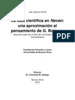 La Idea Científica en Naven - Una Aproximación Al Pensamiento de G. Bateson VF 10-2