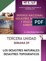 Defensa Nacional, Desastres Naturales y Educacion Ambiental (3)