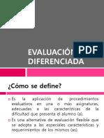 Evaluación Diferenciada