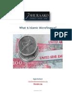 What is Islamic Microfinance