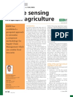 Remote Sensing and GIS Application in Agriculture