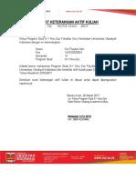 Surat Aktiv Kuliah