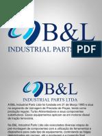 B&L Industrial Parts Ltda 2018