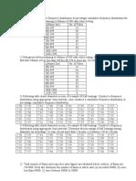 Statistics Question Bank