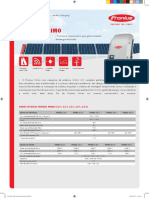 Fronius Primo Inverter Data sheet