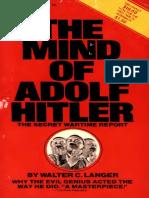 The Mind of Adolf Hitler