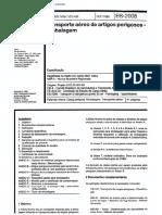 NBR 10854 EB 2008 - Transporte Aereo de Artigos Perigosos - Embalagem
