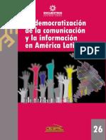 Democratizacion de La Comunicacion