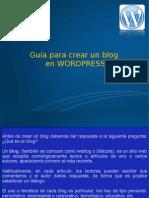 01 Guia Para Crear Un Blog en Wordpress