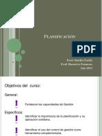 PPT Clase de Planificación