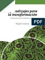Aprendizajes Para La Transformacion Oaxaca