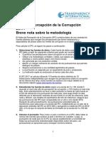 2017 CPI Short Methodology Note ES