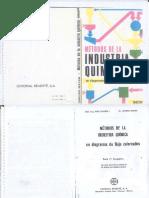 Métodos de La Industria Química - F. Tegeder, L. Mayer - 1ed