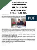 Spionernas Spion - Jan Guillou Avslöjar Allt KGB CIA IB EU