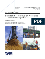 Drilled Shafts Construction Procedures and LRFD Design Methods (Cap 10 y 15)
