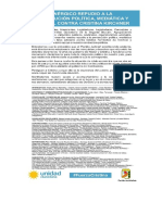 """Kirchneristas de la segunda sección repudian """"persecución"""" contra Cristina Kirchner"""