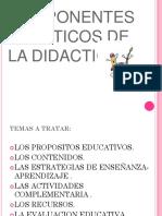 Componentes Practico de La Didactica