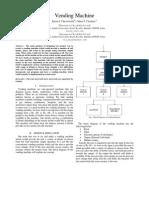 IEEE Format Vending Machine Report