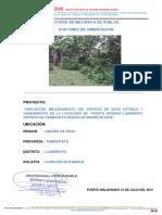 Estudio de Mecanica de Suelos Puerto Rosario Laberinto