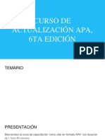 La aplicación de APA
