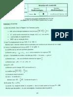 Math Controle 2018 Bac Math