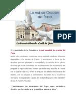 El Apostolado de La Oración Es La Red Mundial de Oración Del Papa