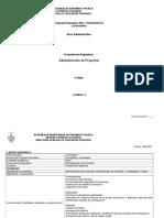 Programa Adm Proyect 09