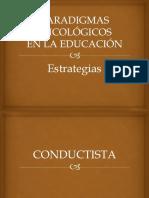 Paradigmas Psicológicos en la educación