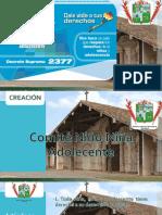 diapositiva comite