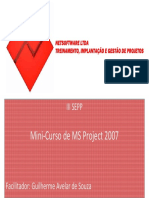 Mini-Curso de MS Project - NetSoftware - Parte 1